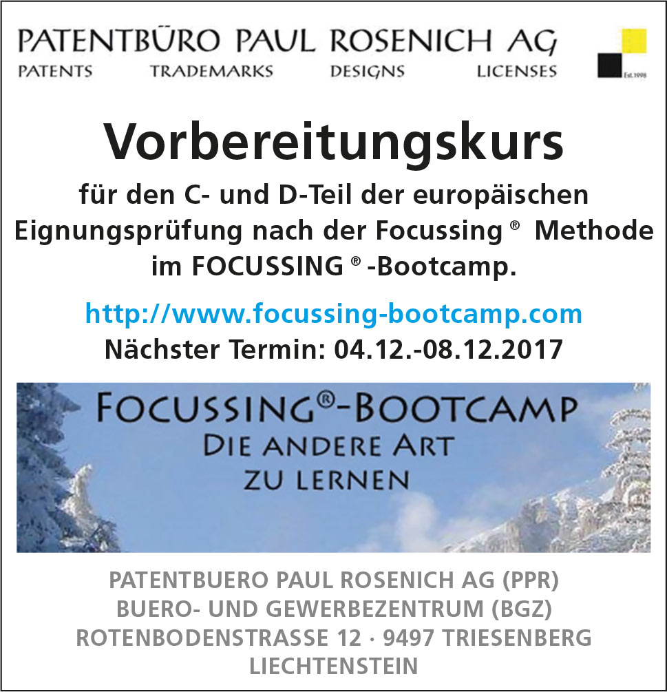 Focussing Bootcamp