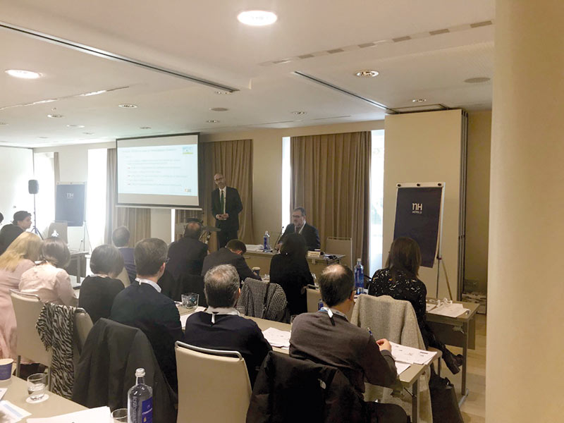 Picture from the seminar in Madrid